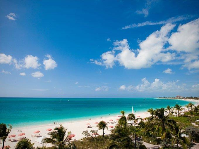 2. Grace Bay Providenciales, Islas Turks y Caicos.