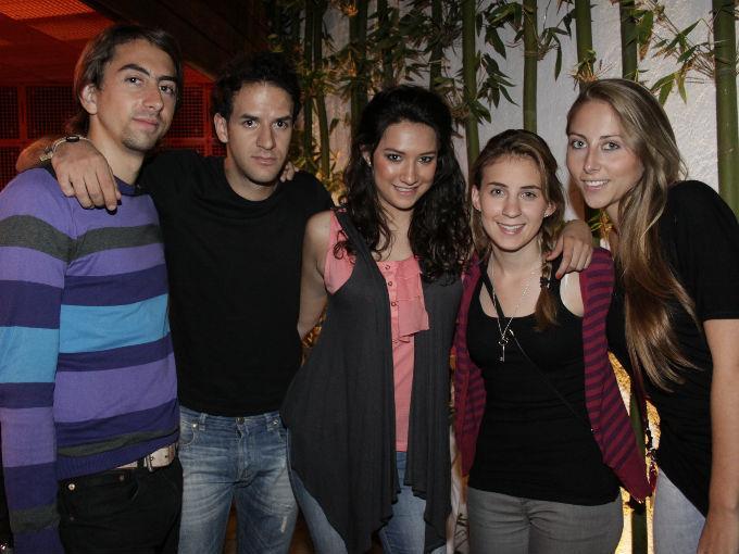 Eduardo Represa, Denis Fernández, Nadine Jiménez, Marisol Ordoñana y Carla Represa