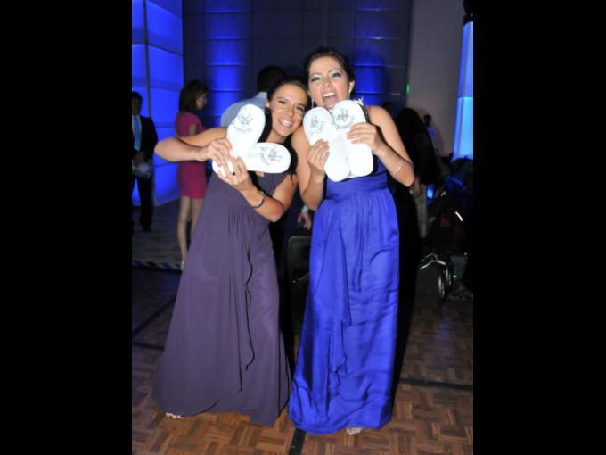 Yolanda Maldonado y Daniela Esparza