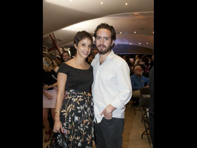 Andrea Bardasano y Pepe Bezaury