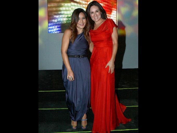 Gina Pineda y Gloria Calzada