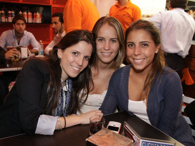 Regina Huerta, Layla Aguilar, Daniela Olavarrieta