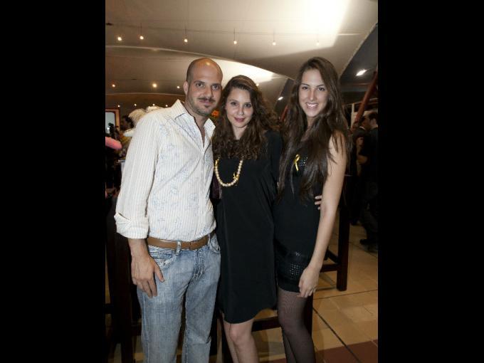 Alex Atri, Marcelle Freidman y Sophia Grey