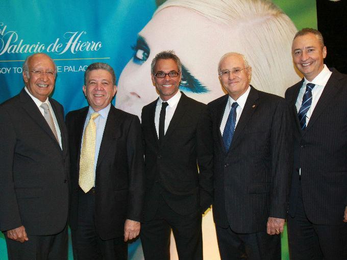 José María Blanco, Federico Vélez, Raúl Romo, Jean Pierre Durand y Ernesto Izquierdo