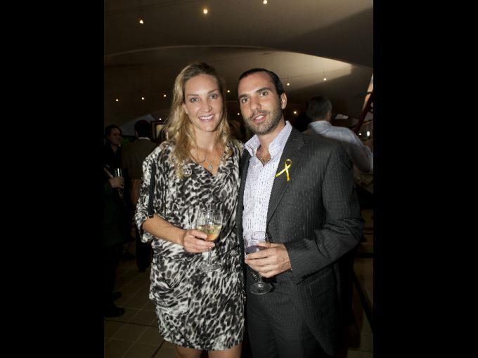 Rossana y Alfonso Entebi