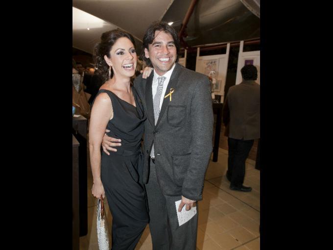 María Jose Suarez y Mauricio Barcelata