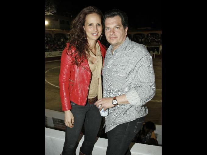 Vanessa Serrano y Miguel Alemán Magnani