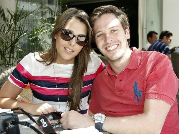 Karina de Haro y Eugenio Fernández