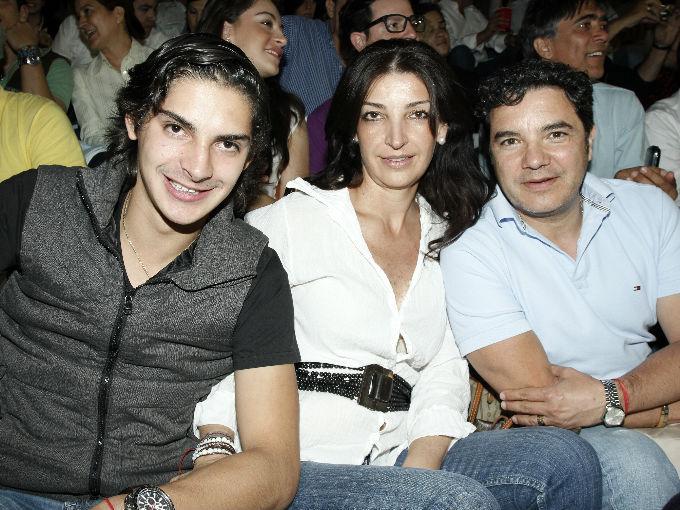 Daniel Aguirre, Martha Cardoso y Alonso Taladrid