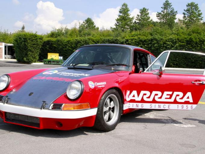 El porsche 911 será el que participará durante la Carrera Panamericana.