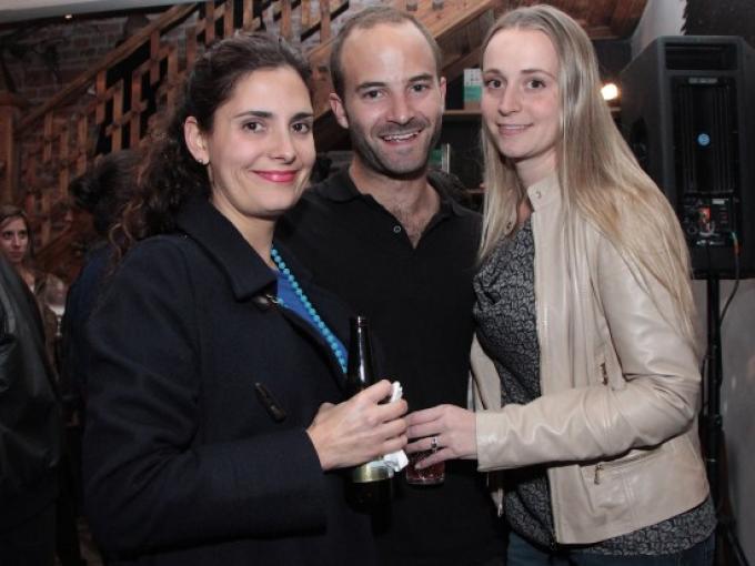 Mili Pollak, Diego Villalobos y Alexia Witt