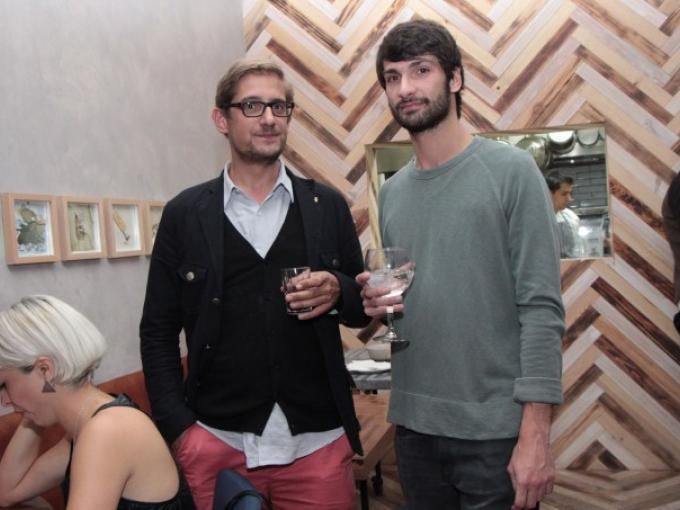 Guy Bergis y Edouard Clabaux