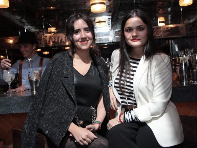 Sarai Balderrama y Maggie Castelum