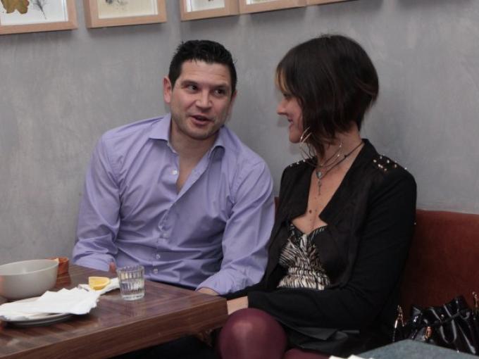Adolfo Lugo con Edwina Trauwitz