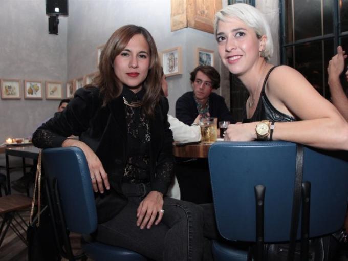 Claudia del Bosque y Georgina Prieto