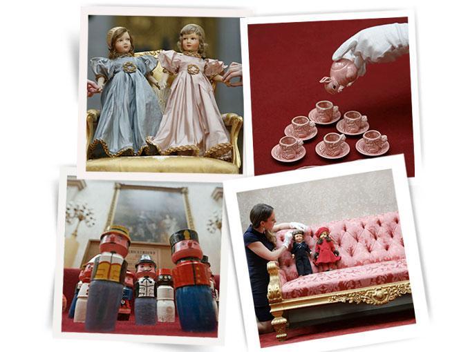 ¿Cómo son los juguetes de la realeza?, ¿Con incrustaciones de oro o alguna gema?  Ya no lo imagines aquí te  presentamos los 5 favoritos de la Reina Isabel.  Las imágenes fueron tomadas en  el Palacio de Buckingham donde se llevó a cabo una exposición sobre la infancia, todo inspirado en el nuevo integrante de la familia real: el pequeño príncipe George.