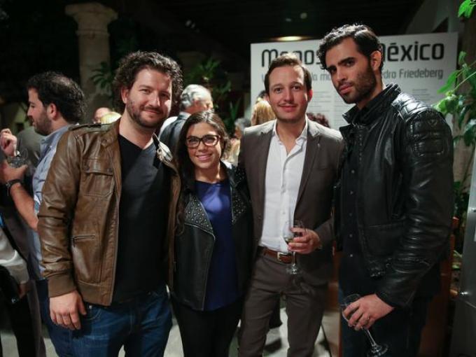 Armando Suárez, Esti Boca, Rodrigo Diaz y Diego Morén