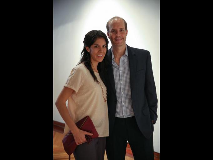 Estephanie Beckman con Daniel Beckman