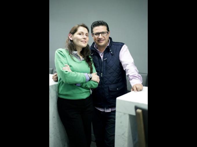 Liliana Romo y Mauricio Martínez