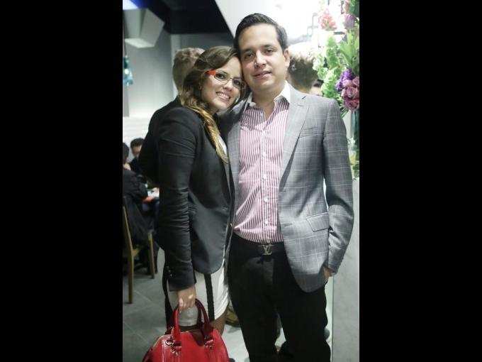 Beatriz Gastinel y Alfredo Garcia