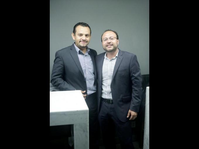 Gustavo Rivera y Gerardo Terreros