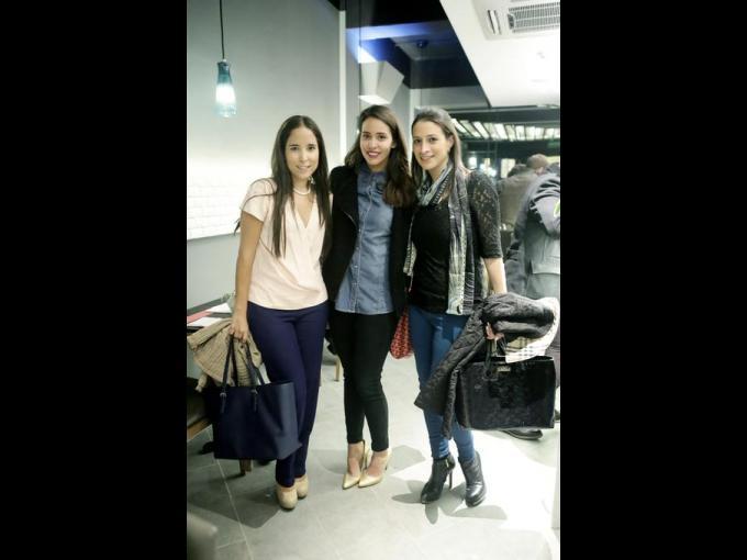 Fernanda Benavides, Andrea González y Fatima Garza