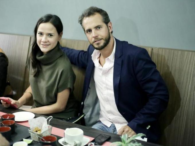 Ana Cristina Lepe y Alfredo Salatranca