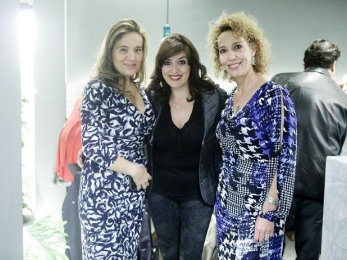 Mónica Razo, Patricia Sandoval y Adriana Lozano