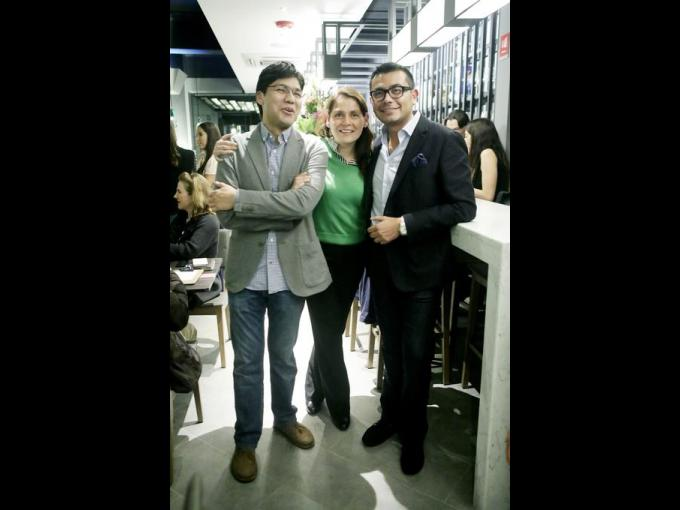Mauricio Ita, Iliana Romo y Gustavo Alcala