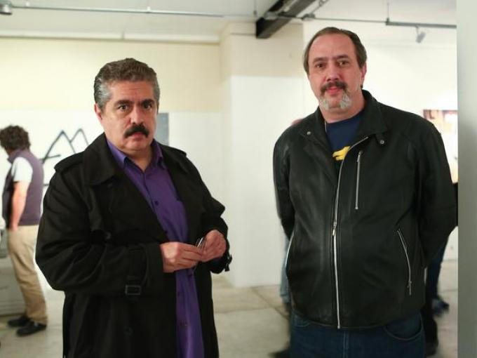 Dr Fanatik y  Lorenzo Lagrava