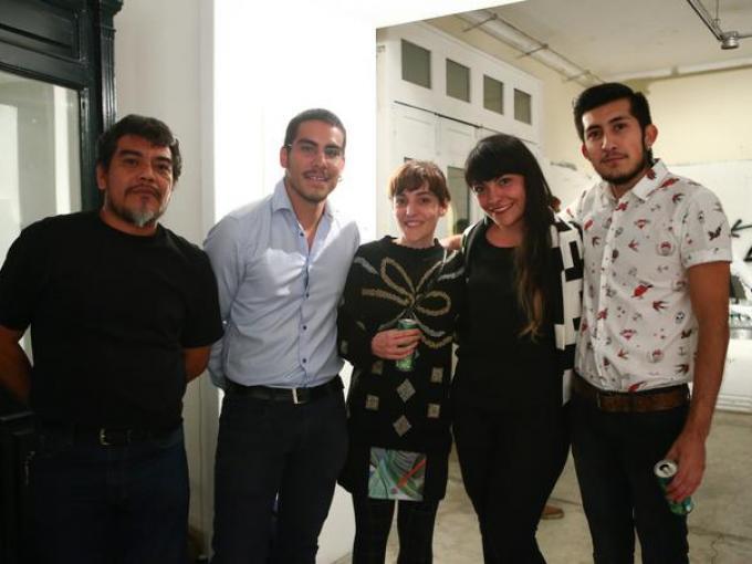 Mario Garduño, Manuel Valencia, Adriana Minoliti, Rosalba Vera, Eduardo Ocampo