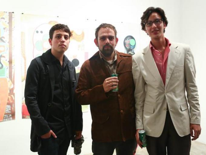 Arturo Alcalá, Pancho lópez y Daniel Cervantes