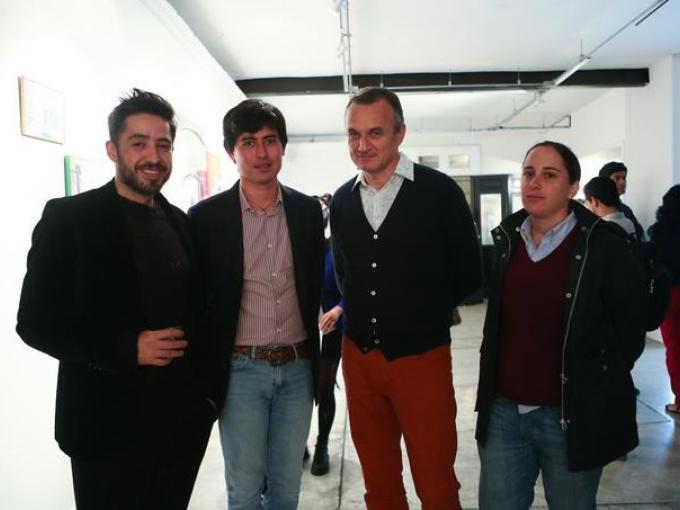 Jorge Díaz, Ragino Lobato, Christian Valdelievre y Mariana Gjp