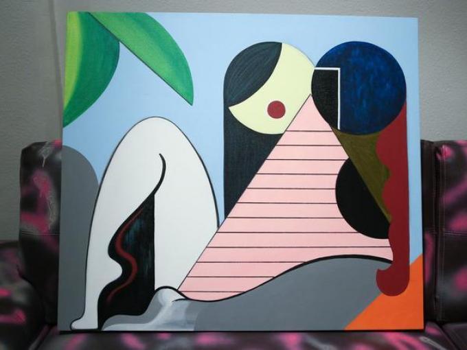 Se llevó acabó el primer show en México de la artista visual Adriana Minoliti en la Galería Karen Huber.