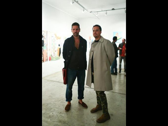 Leandro Asoli y  Luis Orozco