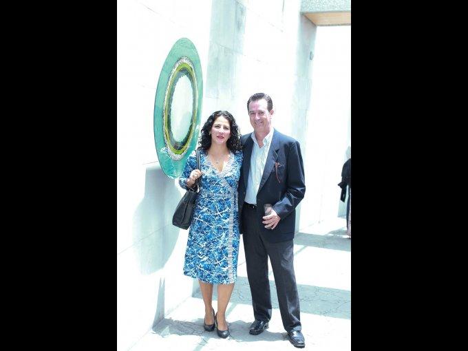 Gabriela Perez de Leon y Ricardo Camacho
