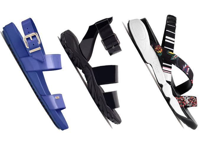 Desde Alexander Wang hasta Raf Simons, pocos fueron los diseñadores que se resistieron al feo y cómodo encanto de las sandalias toscas y súper cómodas que todos usamos a finales de los noventa, y este año regresaron a la pasarela.