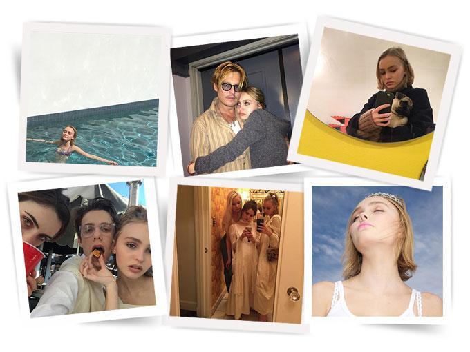 Con pómulos excepcionales, papás súper famosos y un estilo que mezcla a la perfección el parisian-chic con el californian-cool, Lily Rose Depp tiene una cuenta de Instagram digna de ser envidiada. Aquí te dejamos 15 fotos que lo prueban.