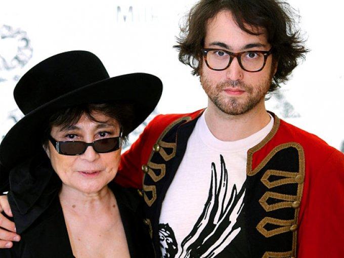 Sean Lennon y Yoko Ono