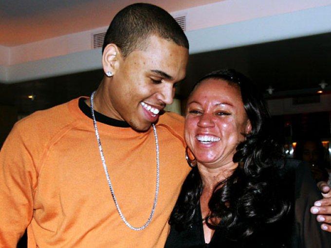 Chris Brown y Joyce Hawkins