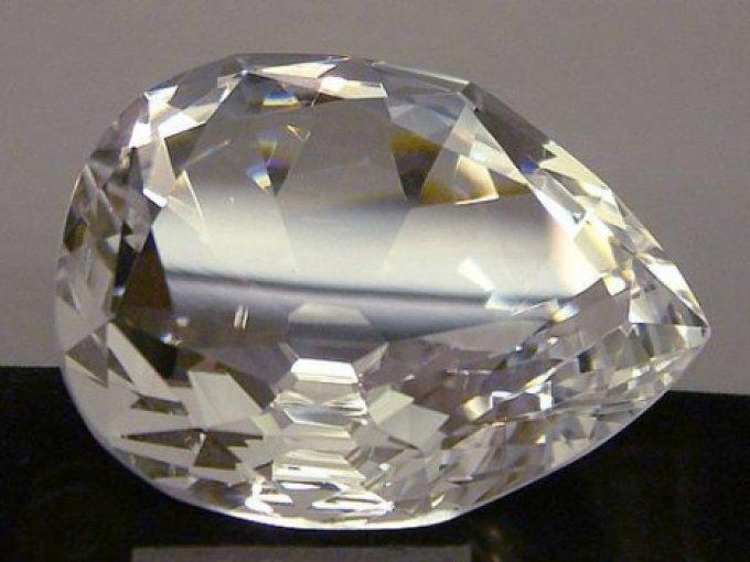 1. La Estrella de África | Éste es el diamante tallado más grande del planeta que hasta ahora se conoce. Fue esculpido por una empresa estadounidense, la cual investigó por seis meses cómo trabajarlo