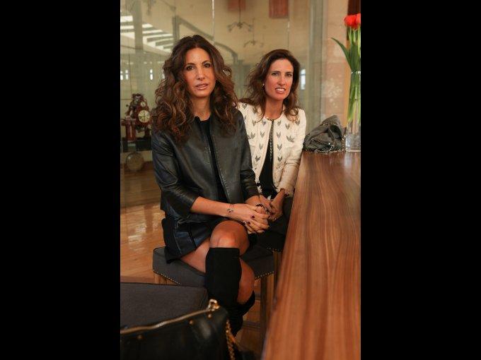Marielena Checa y Victoria Álvarez