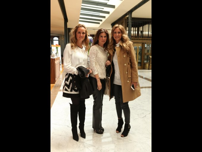 Vanessa Pliego, Jéssica Pliego y Pixie Devlyn