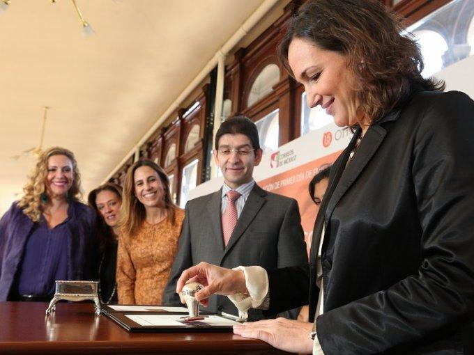 Verónica Noriega, Catalina Estrada, Érika Pacheco de Hojel, Jorge Jacobo y Mariana Baños