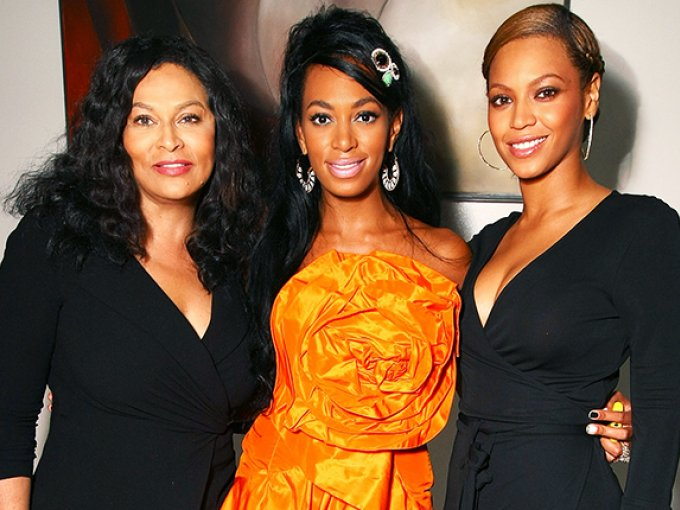 Tina Knowles, Solange Knowles y Beyonce Knowles