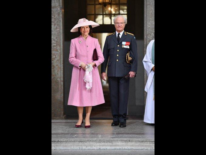 Rey Carlos Gustavo de Suecia y Silvia de Suecia
