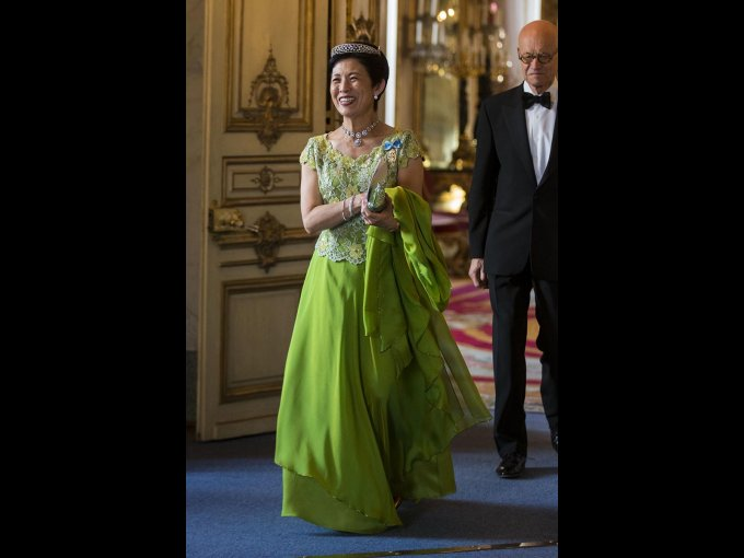 La princesa Takamado de Japón