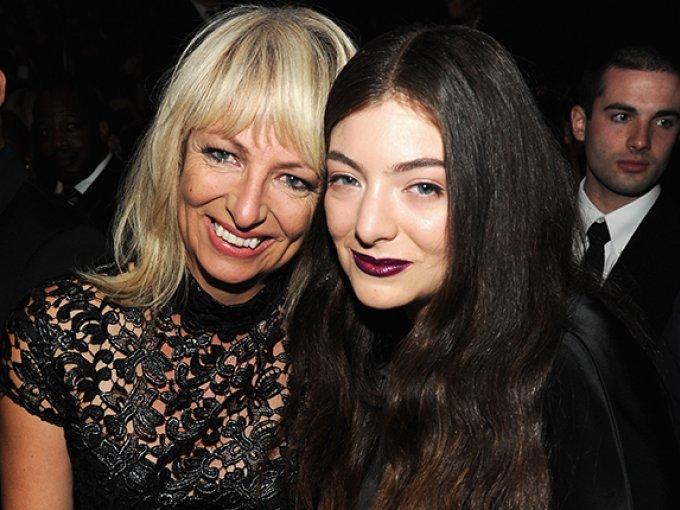 Lorde y su mamá