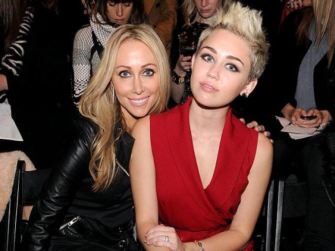 Miley Cyrus y Tish Cyrus