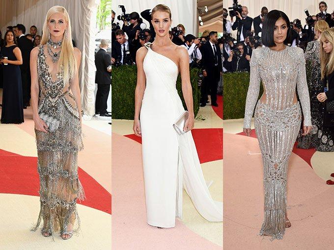 El tema del Met Ball de este año es Manus x Machina: Fashion In An Age Of Technology, lo que quiere decir que vimos una alfombra repleta de tonos blancos, plateados y hasta iluminación LED.